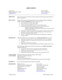 How To Write A Project Manager Resume Resume Peppapp