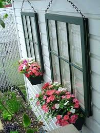backyard fence decoration ideas window frame planter box garden fence decor backyard fence decoration makeover ideas