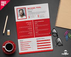 Graphic Design Resume Template Free Foroad Creative Designer Cv Psd