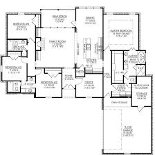653665 4 bedroom 3 bath and an office or playroom house plans for a