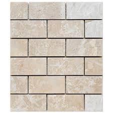bottoccino mosaic polished 2x4