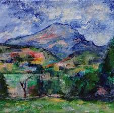 famous artist birthday paul cezanne purple mountain ipad and painting give away day 19 of 30 paintings in 30 days