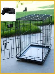 amazing folding single door dog crate with deluxe black mat of at tractor supply pens kennel tractor supply dog kennel