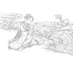 カテゴリー 鈴木春信 ぬり絵リラックス無料ぬり絵と世界の名画の美術館