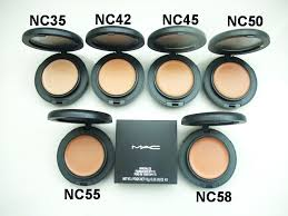 mac mineralize foundation spf15 fond de teint 10g 0 35oz 6 colors set