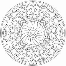 Small Picture Simple Mandala Coloring Pages Printable Coloring Coloring Pages