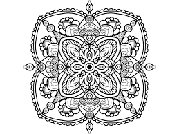 Mandala Coloring Pages Therapy Free Coloring Pages
