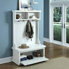 Shoe Coat Rack Bench Bench Hall Tree With Storage Bench Ideas Entry Shoe Cabinet Slim 54