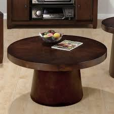 fascinating small round coffee table light wood