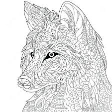 Realistic Wolf Coloring Pages Coloring Pages Wolf Realistic Wolf