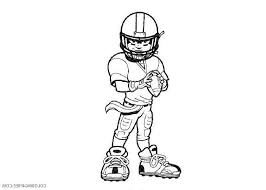 Soccer Player Coloring Pages Fresh Football Player Coloring Pages