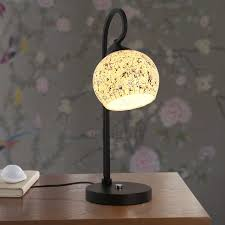 bedside table lamps. Elegant Mosaic Type Joint Glass Shade Bedside Table Lamps Dream With Shades Regard To 12 D