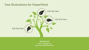 tree diagram powerpoint tree illustration diagrams for powerpoint slidemodel