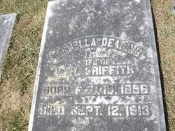 Marcella Dearing Griffith (1856-1913) - Find A Grave Memorial
