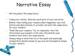 lecture narrative essay < li>< ul>narrative essay 5