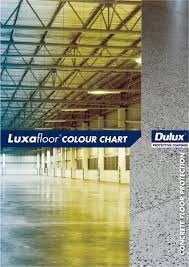 Dulux Luxafloor Colour Chart Data Sheets And Downloads