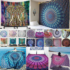 hanging beach towel. Indian Bohemian Mandala Beach Wall Tapestry HippyThrow Yoga Mat Towel Bedspread Hanging D