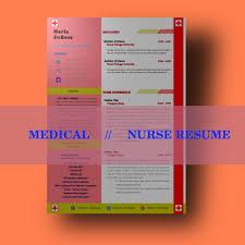 Nurse Resume Template Medical Resume Template Healthcare Doctor Resume Template Nursing Resume Nursing Resume Rn Cv Template Cover Letter