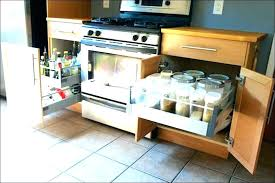 sliding shelves for kitchen cabinets under kitchen cabinet shelf sliding kitchen drawers under cabinet storage drawers