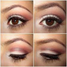 natural eye makeup for brown eyes step by step natural eye makeup