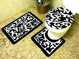 madison park striped bath rug black and white bathroom rugs set blue ba blue striped bath rug