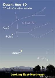 This Weeks Sky At A Glance August 9 17 Sky Telescope