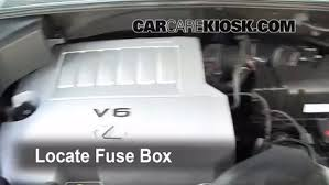 replace a fuse 2004 2009 lexus rx350 2008 lexus rx350 3 5l v6 locate engine fuse box and remove cover