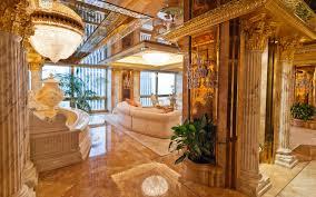 Trump Tower Interior Design Inside Donald Trumps 100 Million Penthouse In New York