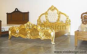 bed gold italian furniture bedroom italian furniture