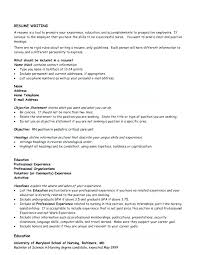 How To Write Objectives For Resume Good General Objective For Resume Emelcotest Com