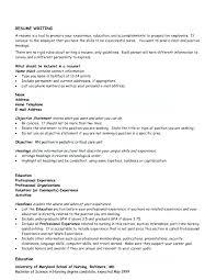 Good General Objective For Resume Emelcotest Com
