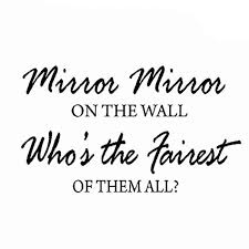 Quotes About Mirrors And Beauty Best Of Amazon VWAQ Mirror Mirror On The Wall Who's The Fairest Of Them
