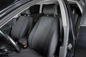 halfords seat covers full set black hard wearing fabric seat protectors