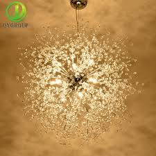 Mode Acryl Feuerwerk Form Kronleuchter Led Lampe Innen