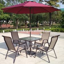 aluminum sling patio furniture. SA521 Chair With M002 Square Table.jpg Aluminum Sling Patio Furniture S
