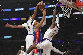 Lakers vs. Pistons Final Score: L.A. throws block party in win - Silver  Screen and Roll
