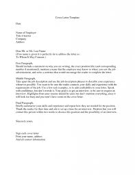 Job Cover Letter With No Name Cover Letter Sample for Cover Letter
