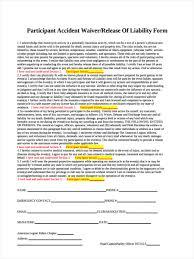 Accident Release Form - Icmfortaleza.tk