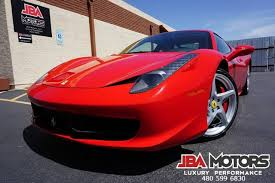 La unidad número 500 y último ferrari laferrari salido de la fabrica italiana será subastado en florida por un precio aproximado de 5 millones de dólares. Ferrari Usados En Venta En Mayo 2021 Cargurus