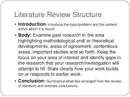 Lit Review Writing A Literature Review For A Dissertation Matrix Education