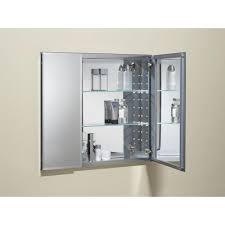 mesmerizing kohler medicine cabinets of kohler in w x h twodoor recessed or surface mount