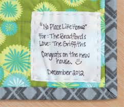 Quilts for happy times, heartbreak (+ giveaway) - Stitch This! The ... & Quilts Made with Love quilt label Adamdwight.com