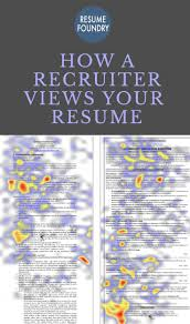 best images about resume tips resume tips how a recruiter views your resume
