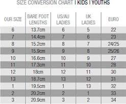 koala baby shoes size chart sizing chart