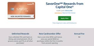 The quicksilver from capital one credit card offers a flat 1.5% cash back on all purchases with a $0 annual fee. Capital One Savor And Savorone Card Review 300 Signup Bonus And 4 Dining Entertainment Category Doctor Of Credit