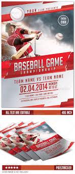 Baseball Brochure Template Baseball Flyer Template Www Moderngentz Com Your