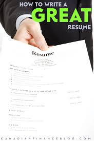 Download How To Write A Great Resume Haadyaooverbayresort Com