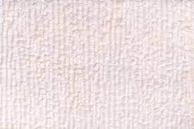 White Pearl Fluffy Background Of Soft Fleecy Cloth Texture Of