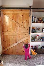 building sliding barn doors diy sliding barn door tv cover