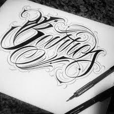 All New Unique Tattoo татуировка трафареты шрифты для